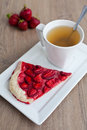 Free Strawberry Pie Royalty Free Stock Photos - 21150688