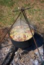 Free Soup On The Fire Royalty Free Stock Photography - 21159917