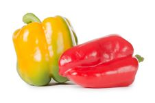Free Fresh Pepper On White Royalty Free Stock Images - 21150199