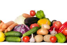 Free Assortment Of Fresh Vegetables Royalty Free Stock Photo - 21150215