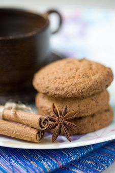 Free Biscuits And Spices Royalty Free Stock Images - 21150359