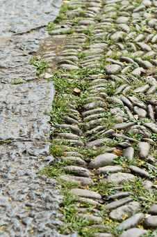 Free Cobbled Road Stock Photos - 21150533