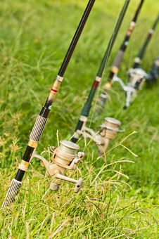 Free Fishing Rod Stock Photo - 21150740