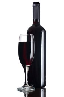 Free Red Wine Glass Royalty Free Stock Images - 21151009