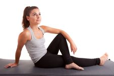 Free Young Fitness Instructor Stock Image - 21151081