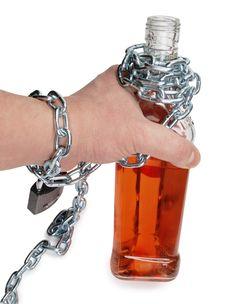 Free Alcohol Bottle Stock Images - 21151454