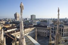Free View From The Duomo S Roof Royalty Free Stock Photos - 21152158