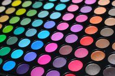 Eye Shadow Palettes Royalty Free Stock Photo