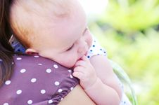 Free Baby Girl Royalty Free Stock Photo - 21153055