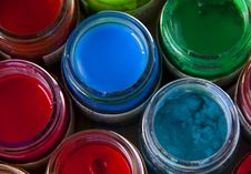 Free Colorful  Paints Royalty Free Stock Photography - 21154447
