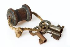 Free Bunch Of Old Keys Stock Photography - 21154612