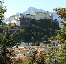 Free Salzburg View Royalty Free Stock Images - 21154659