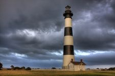 Free Bodie Island Lighthouse Royalty Free Stock Image - 21154746