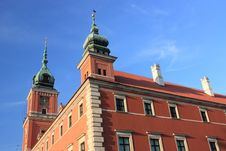 Free Royal Castle In Warsaw Stock Image - 21154941