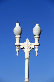 Historic Street Lights Stock Images