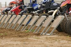 Free Quad Bike Racing Stock Photography - 21156522