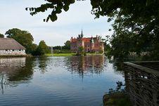 Egeskov Castle Funen Denmark Stock Image