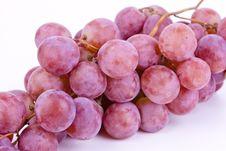 Free Big Fresh Grapes On White Stock Photo - 21158200