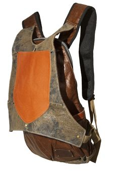 Free Leather Backpack Royalty Free Stock Images - 21159129