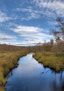 Free Autumn Along Stream Stock Photography - 21159562