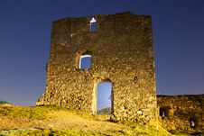 Ruins At Night Stock Images