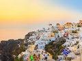 Free Santorini Sunset (Oia) - Greece Royalty Free Stock Photography - 21160177