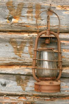 Free The Old Kerosene Lamp Stock Image - 21160071