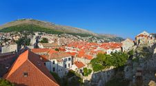 Free Panorama Of Dubrovnik In Croatia Royalty Free Stock Image - 21160266