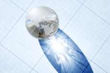 Free Glass Globe Royalty Free Stock Photography - 21160417