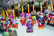 Free Chinese Minority Doll Royalty Free Stock Photos - 21161038