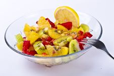 Free Fruit Salad Royalty Free Stock Image - 21161436