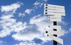 Free Sign Indicator Royalty Free Stock Image - 21162596