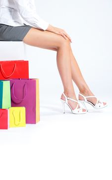 Free Woman S Legs Royalty Free Stock Photography - 21162667