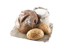 Free Loaves Of Bread Isolated Stock Photos - 21163313