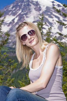Free Blonde Portrait Stock Images - 21163424