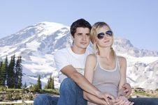 Free Romantic Couple Royalty Free Stock Photos - 21163488