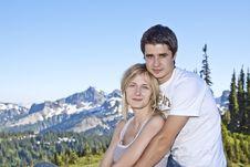 Free Romantic Couple Stock Photos - 21163523