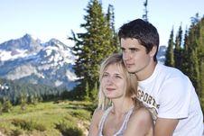 Free Romantic Couple Stock Photos - 21163543