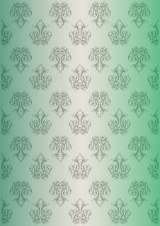 Free Floral Green Background Stock Image - 21163561