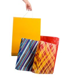 Free Shopping Bag Royalty Free Stock Photos - 21163668