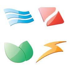 Free Logo Design Royalty Free Stock Photo - 21164035