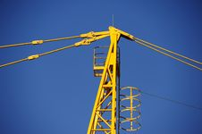 Free Tower Crane Stock Image - 21164151