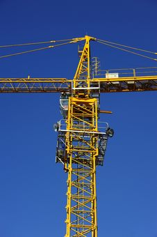 Free Tower Crane Stock Photography - 21164162