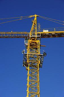 Free Tower Crane Stock Photography - 21164162