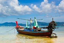 Free Long-tailed Boat Stock Images - 21164804