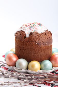 Free Traditional Easter Cake Stock Photos - 21165413