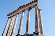 Free Classical Column Portico Royalty Free Stock Images - 21165459