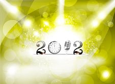 Free Abstract New Year Background With Spot Light Stock Images - 21165474