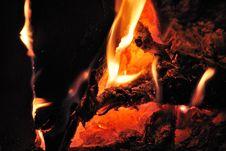 Free Glowing Fire Stock Photo - 21165550