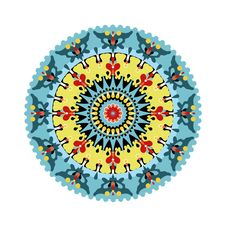 Free Oriental Circular Background Royalty Free Stock Photos - 21165958